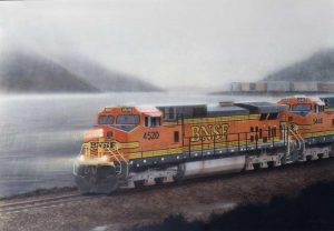 """Come Rain or Shine"" Painting by Greg Garrett"