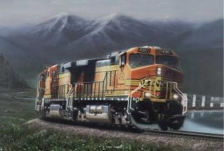 """Fringe Benefits"" painting by Greg Garrett"