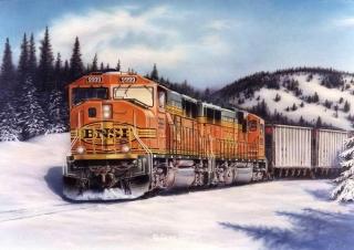 """High Country Thunder"" painting by Greg Garrett"