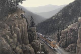 """On The Rocks"" painting by Greg Garrett"