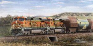 """Precious Cargo"" painting by Greg Garret"