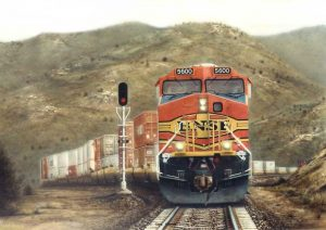 """""""Sagebrush And Steel"""" painting by Greg Garrett"""