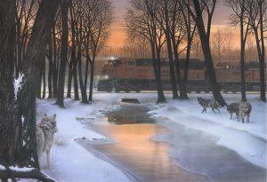 """Shadow Company"" painting by Greg Garrett"